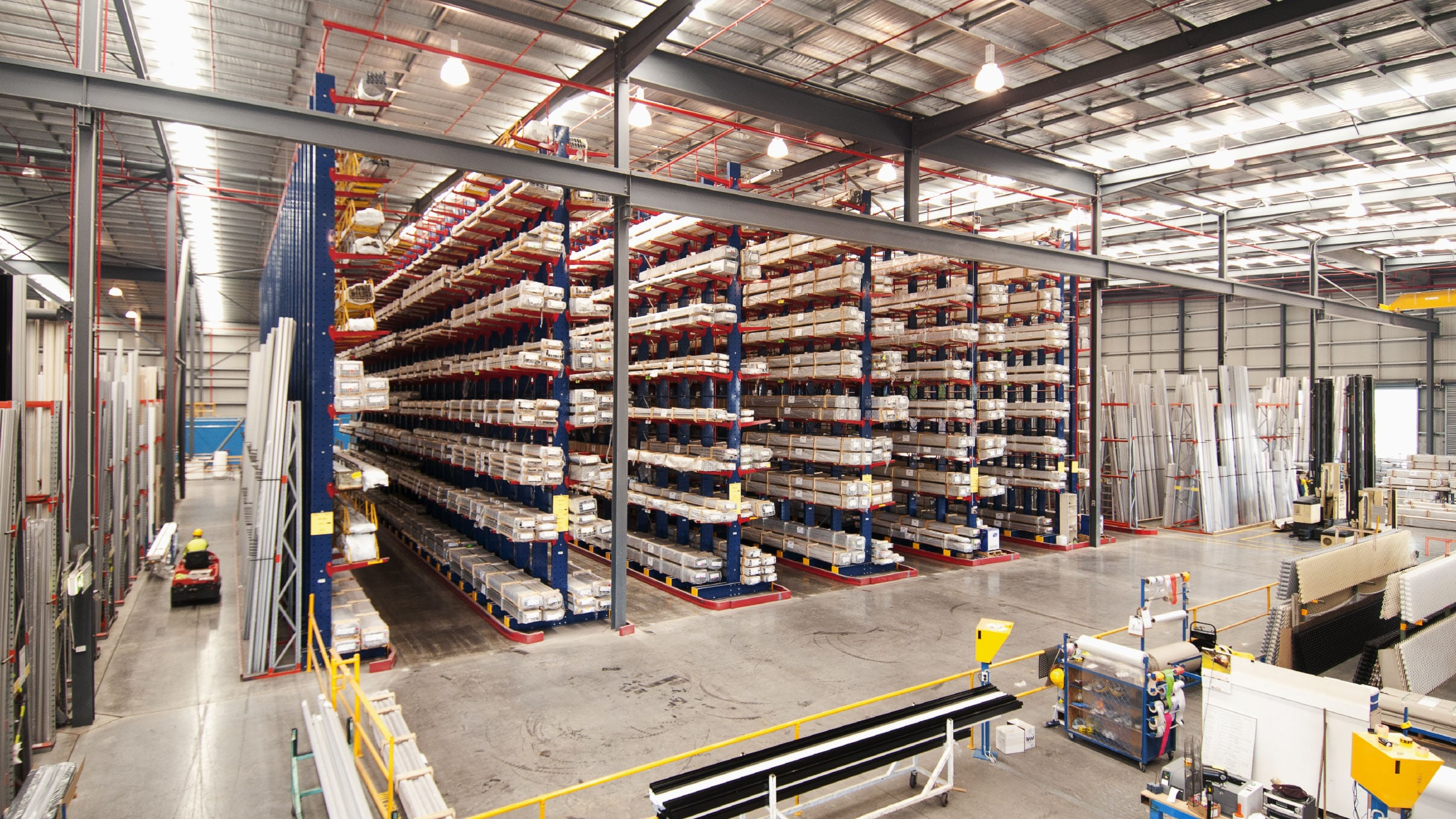 Bradnam's Windows & Doors aluminium distribution centre 1