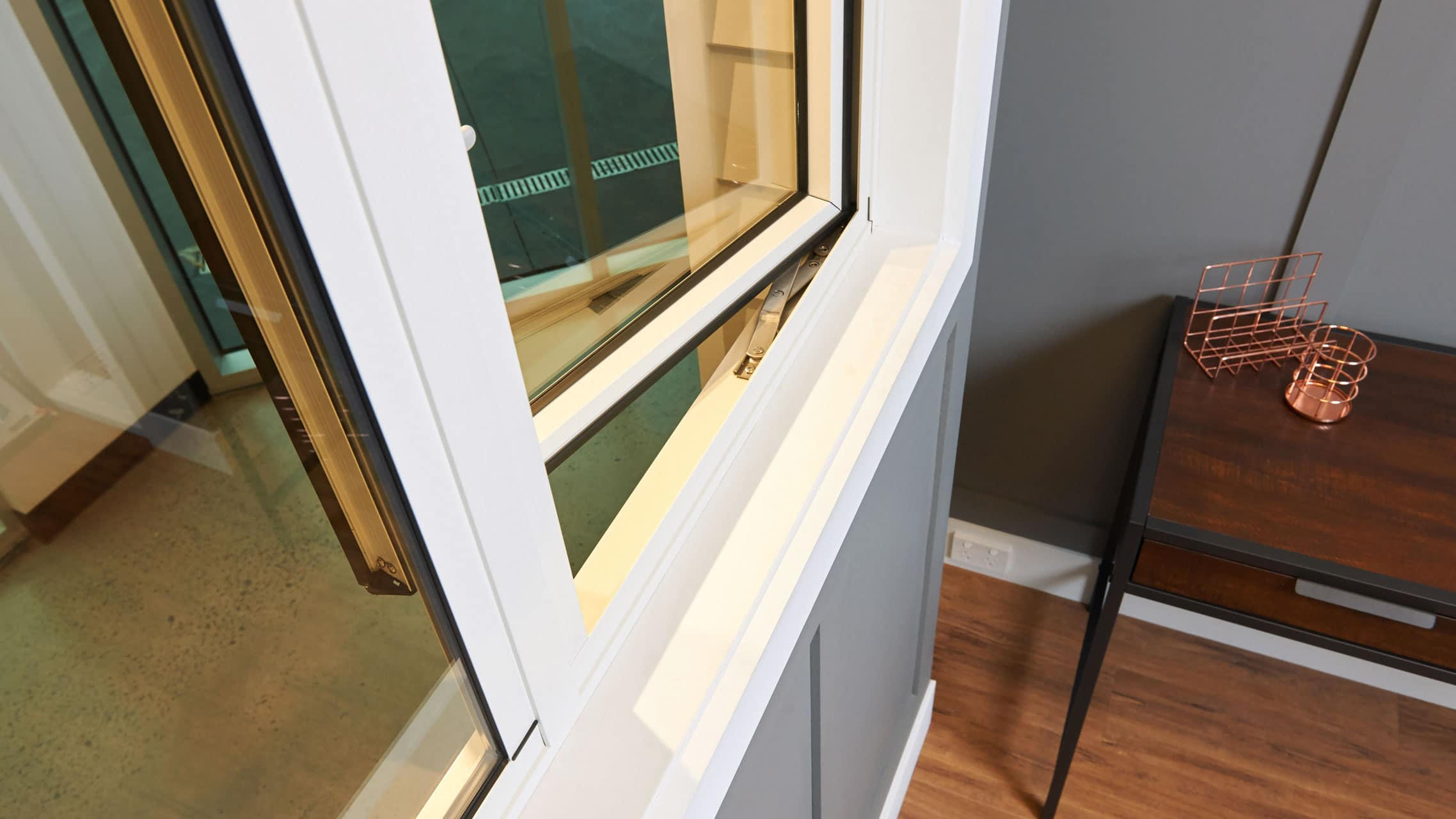 Close up of Casement Window