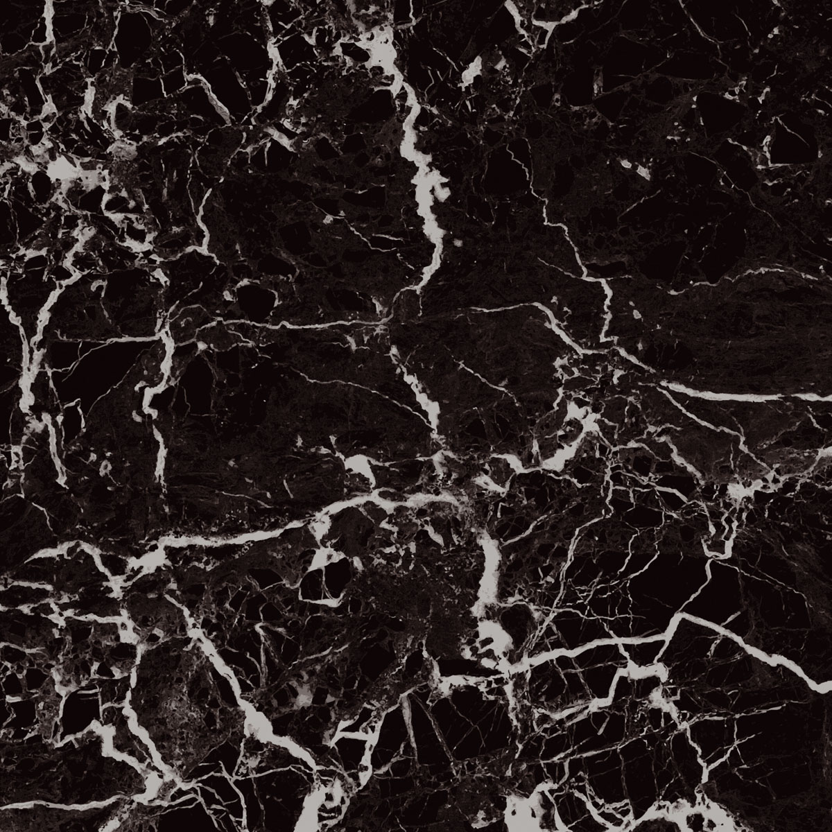 Glass Splashbacks Image - Black Marble