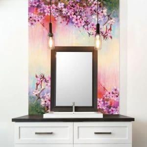 Image Glass Splashbacks - Flowers
