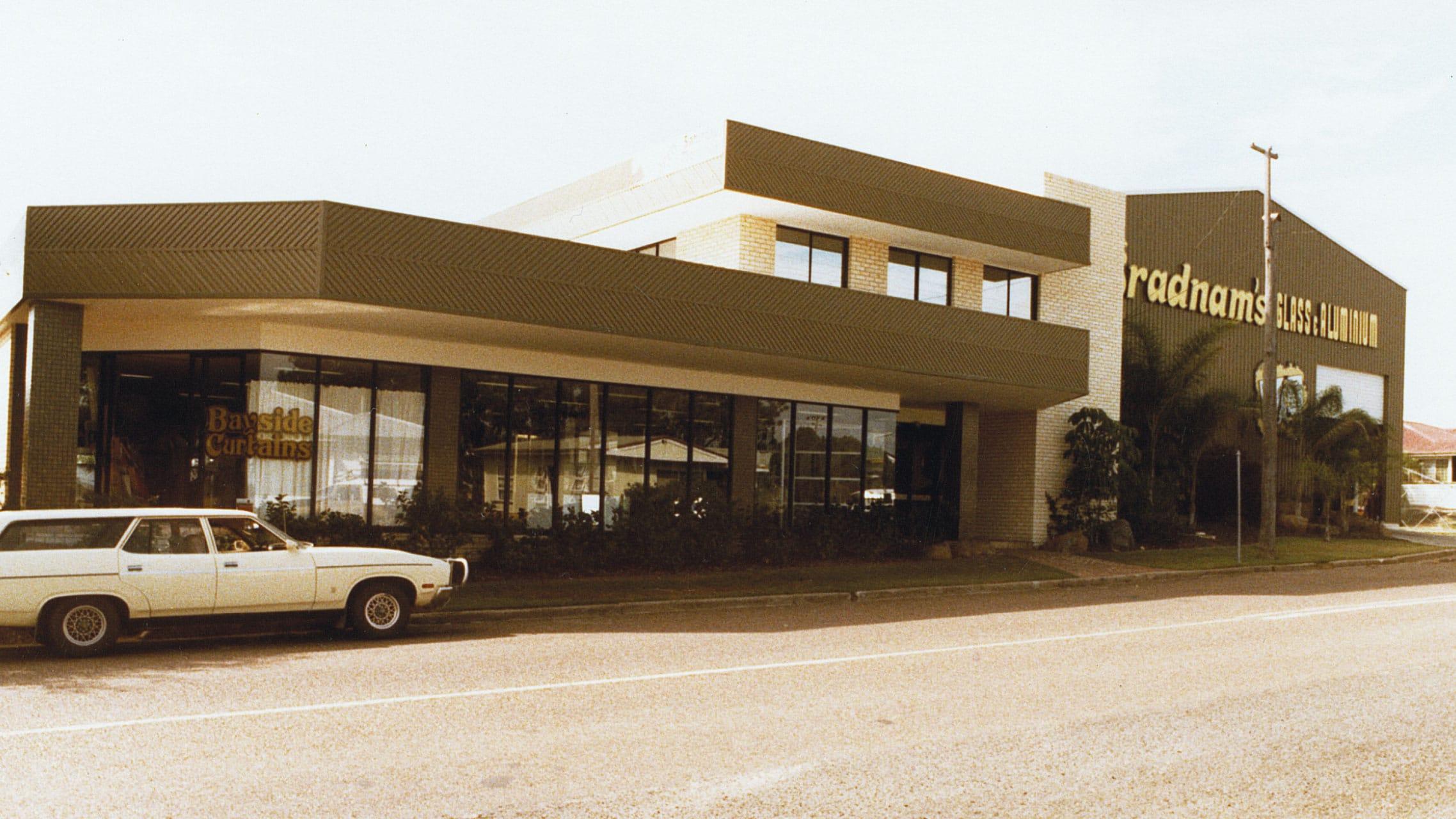 Original Bradnam's Windows & Doors showroom