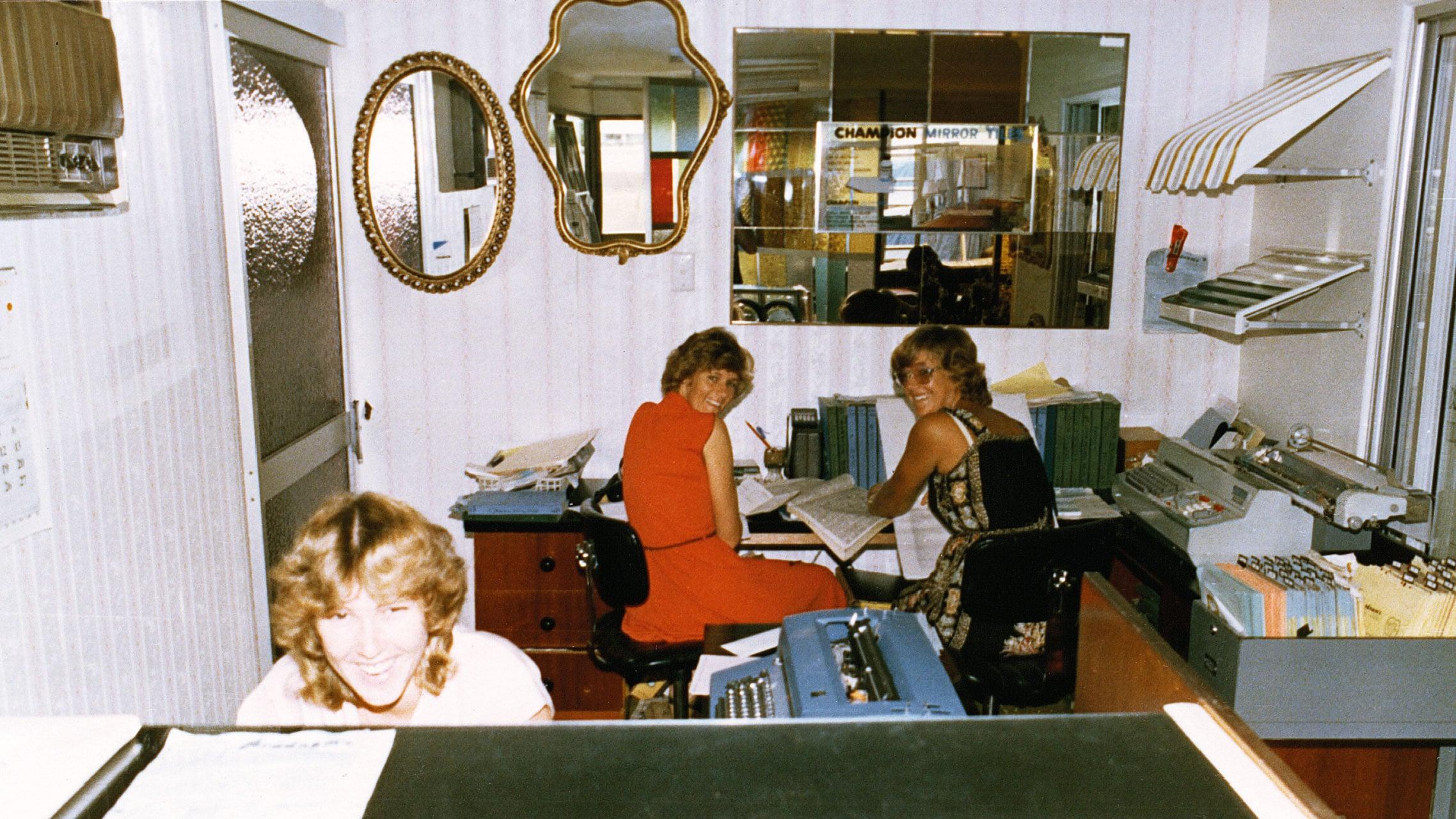 Original Bradnam's Windows & Doors staff