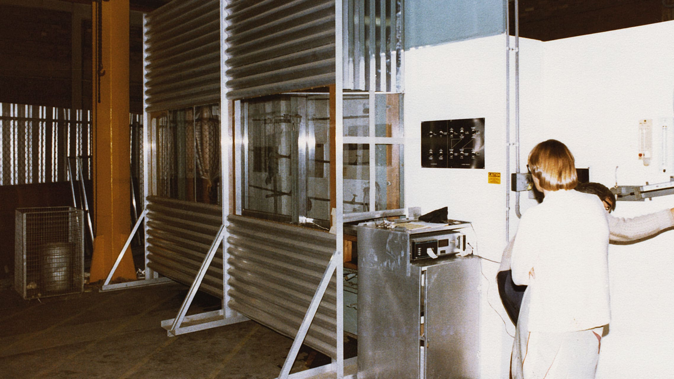 Original Bradnam's Windows & Doors testing facility