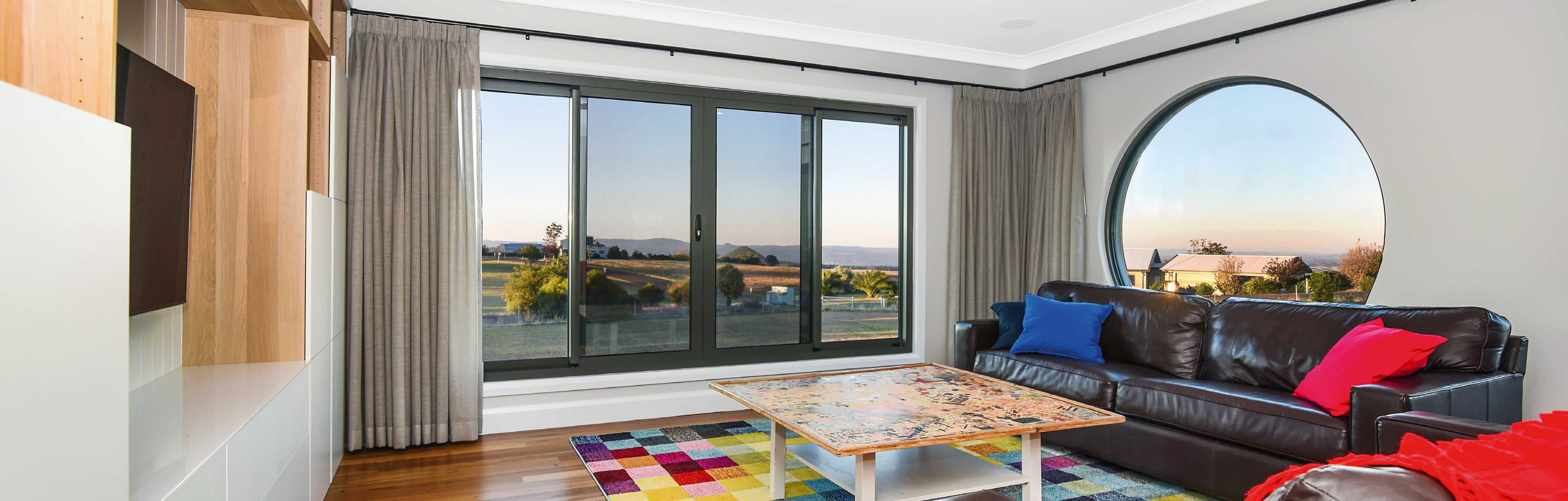 thermal break sliding windows