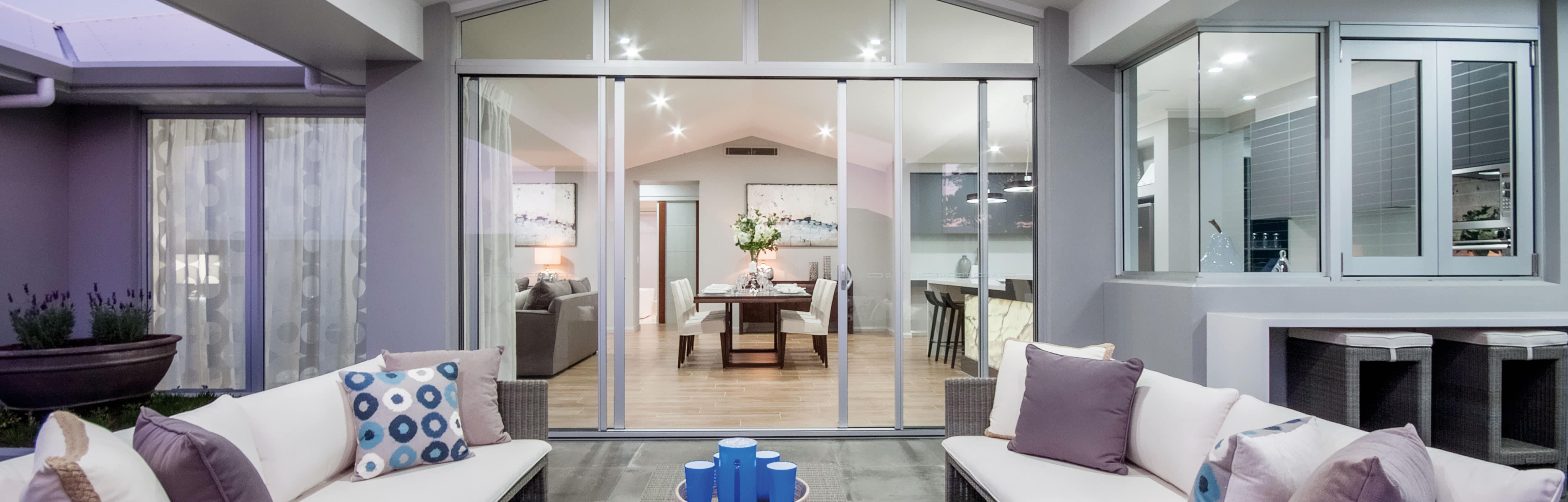 Ultra Silver Aluminium Windows and Doors