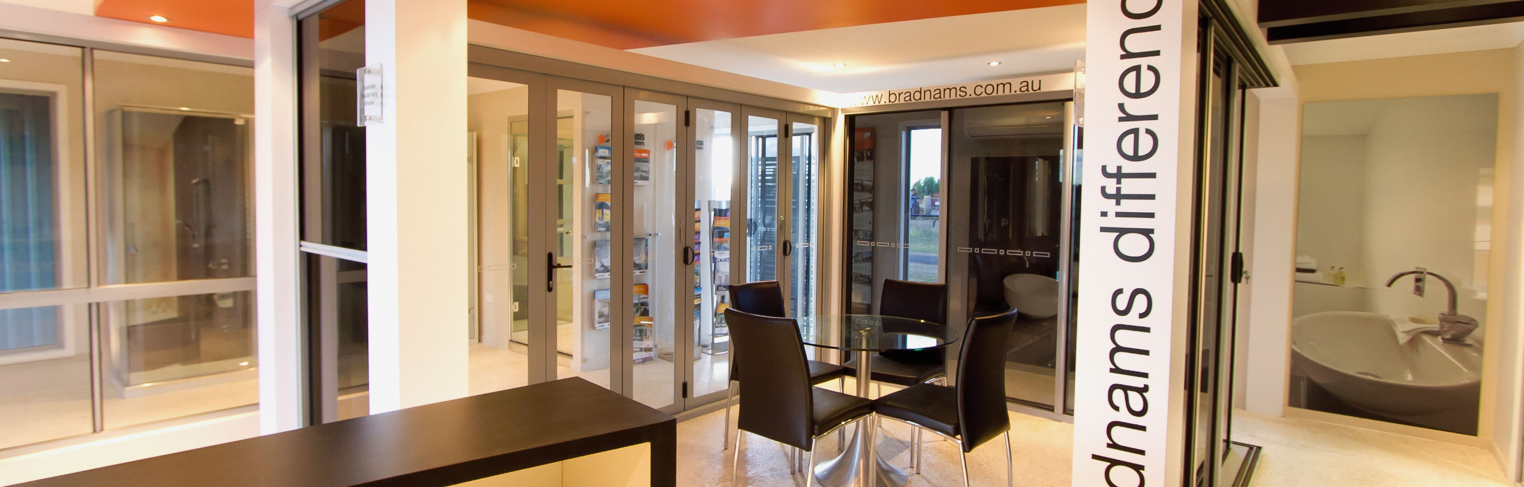 Bradnam's Windows & Doors Emerald showroom