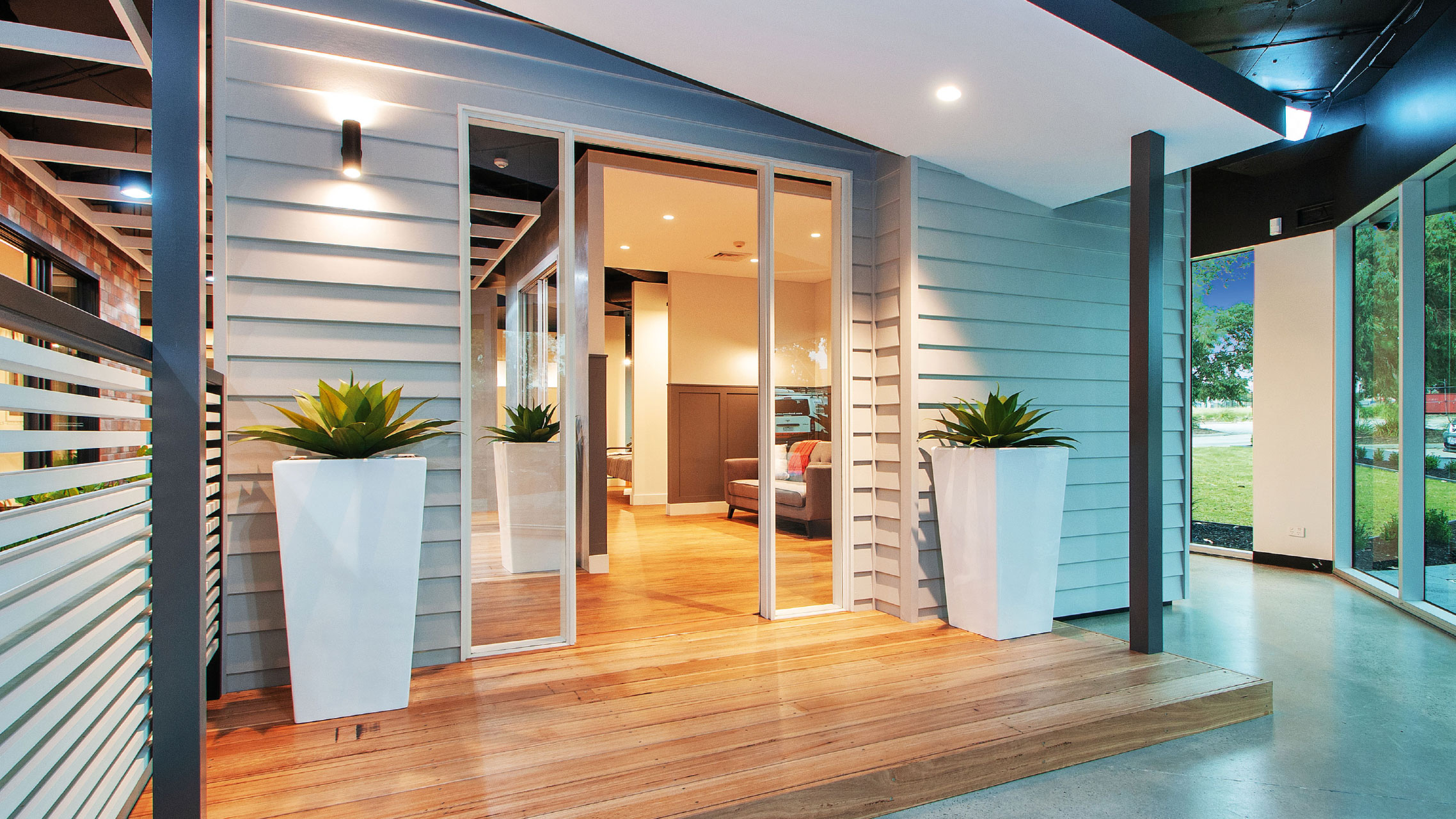 Bradnam's Windows & Doors Melbourne showroom