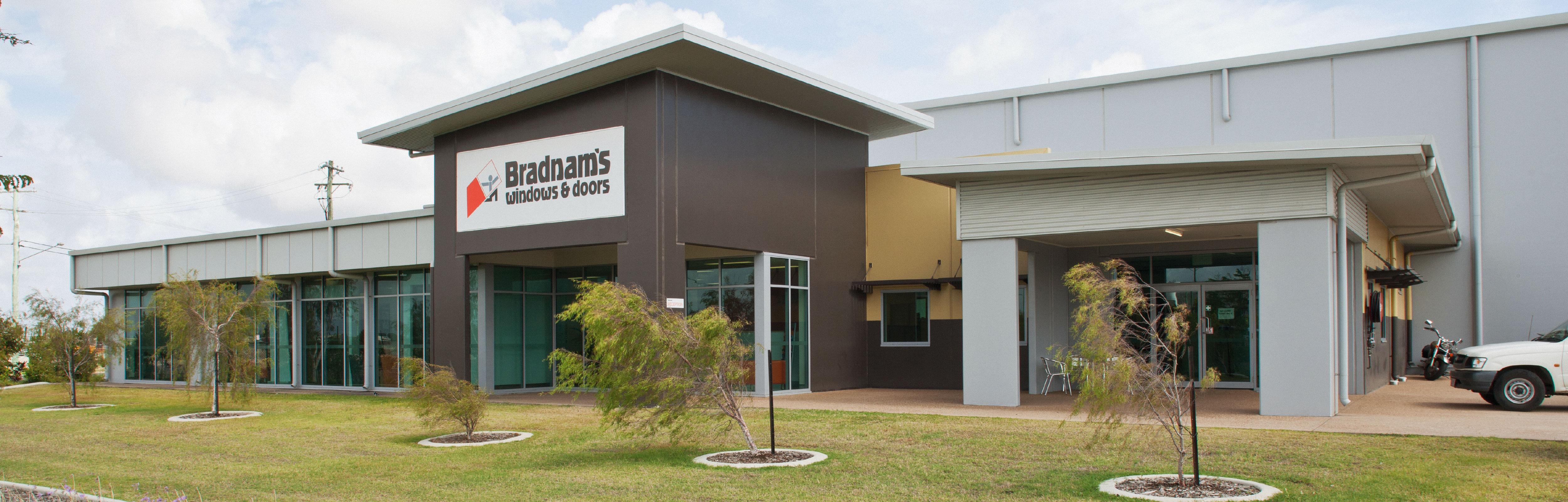 Bradnam's Windows & Doors Townsville showroom