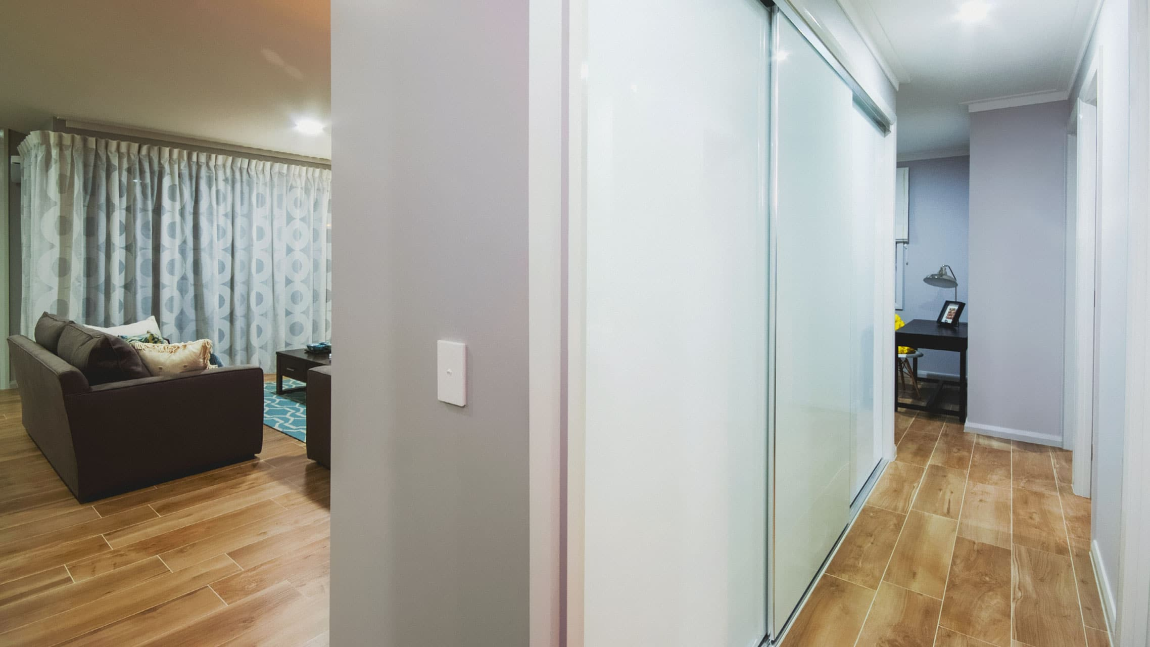 Coloured Glass Wardrobe Sliding Doors