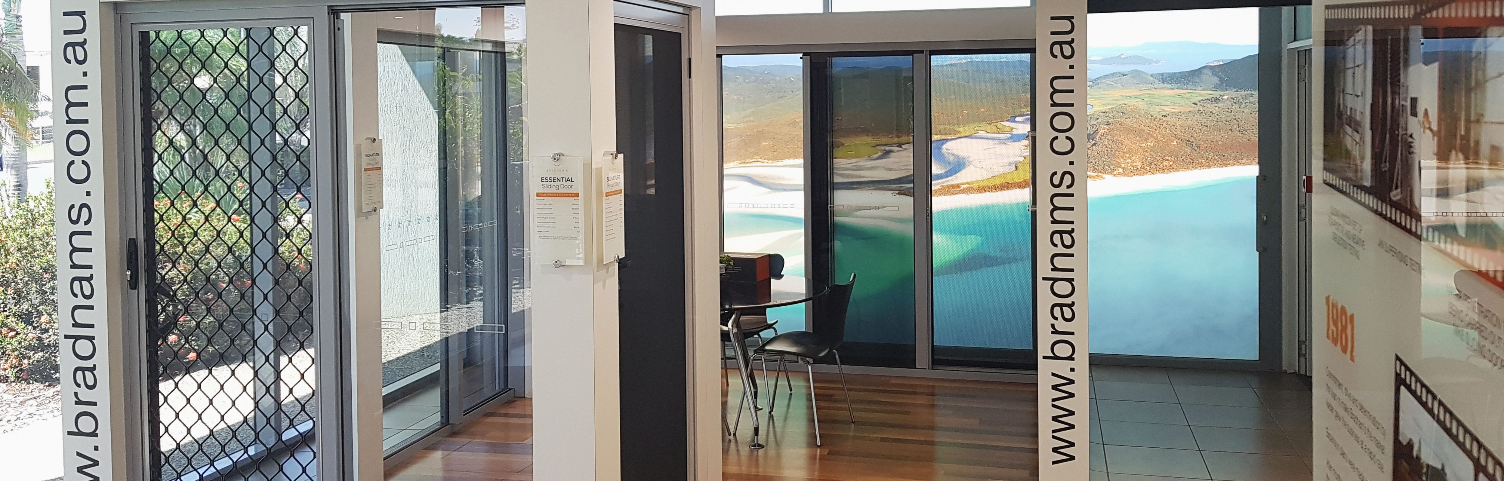 Bradnam's Windows & Doors Rockhampton showroom