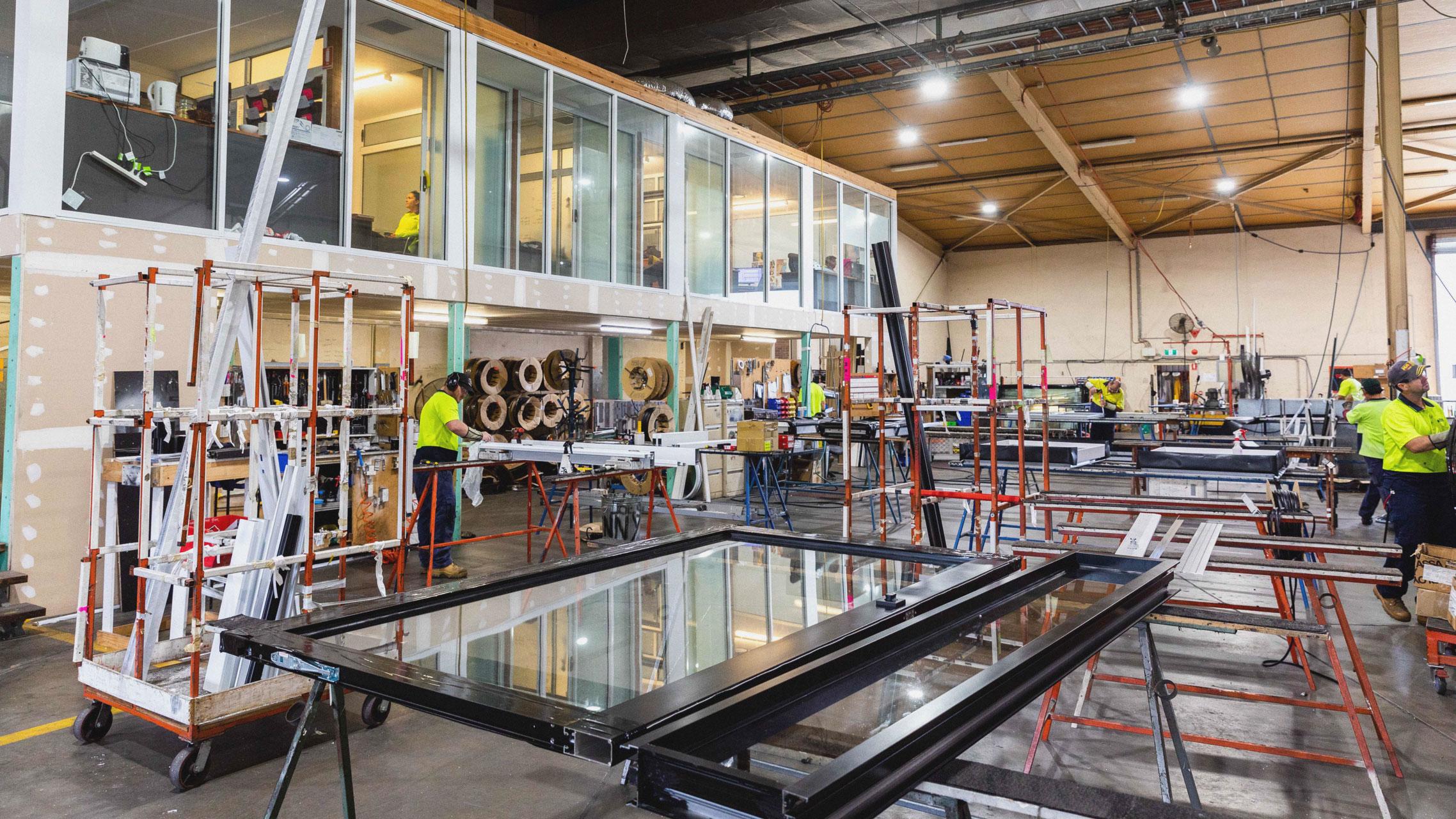 Bradnam's Windows & Door factory 1