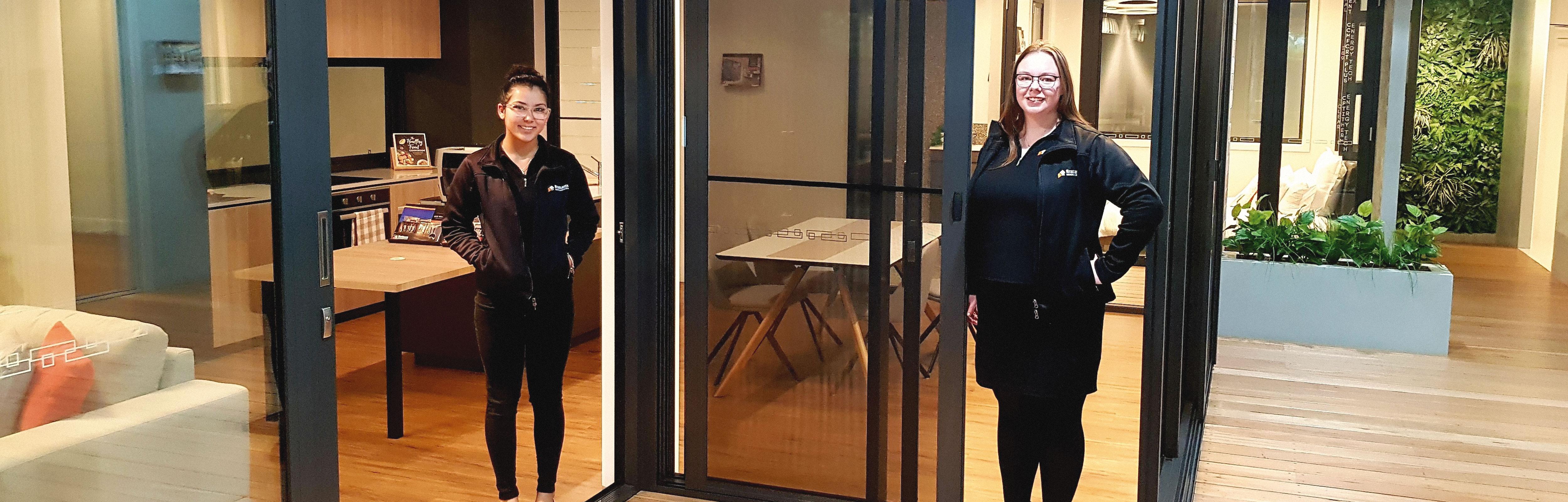 Bradnam's Windows & Doors showroom employees