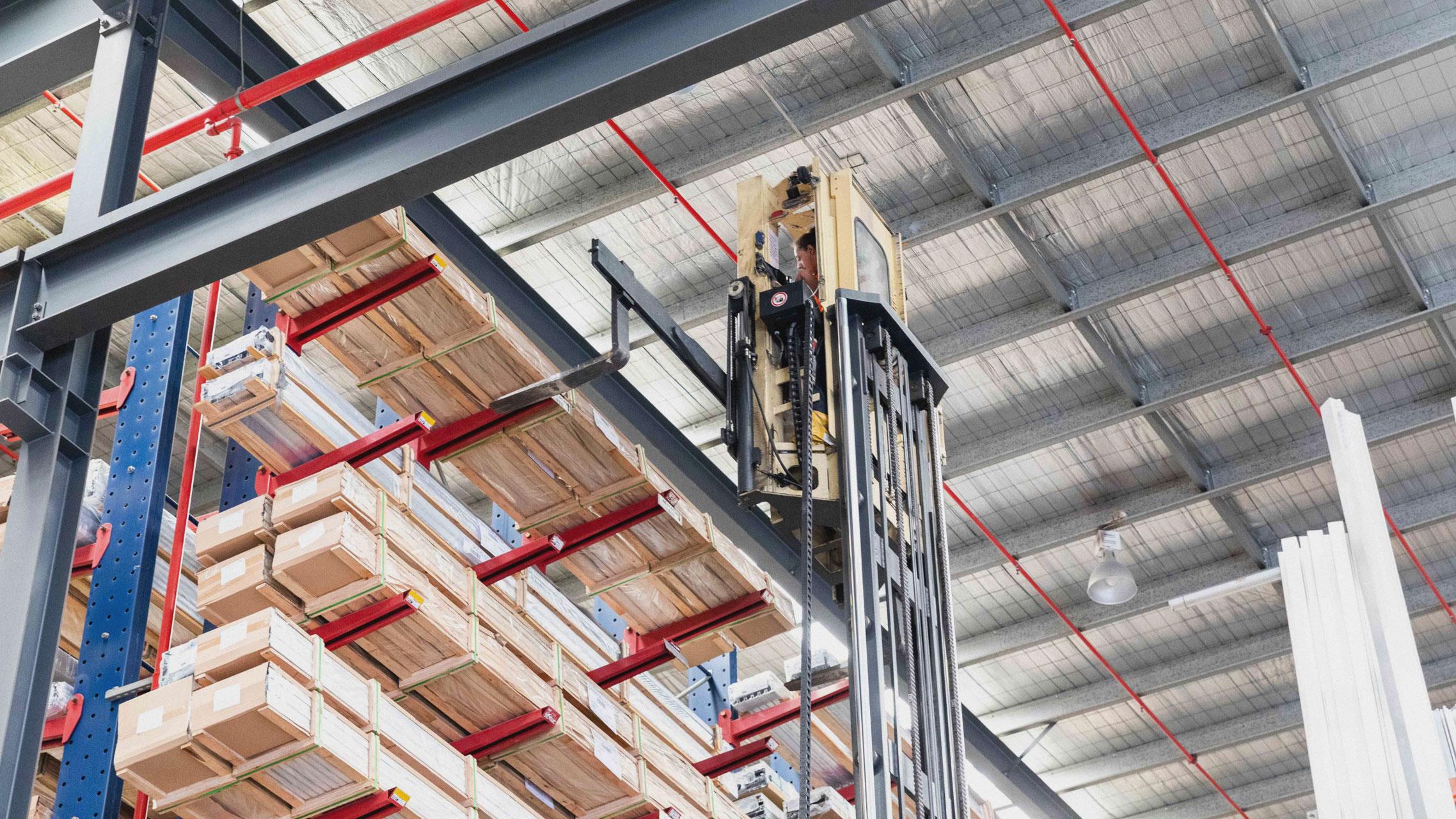 Bradnam's Windows & Doors aluminium distribution centre 7