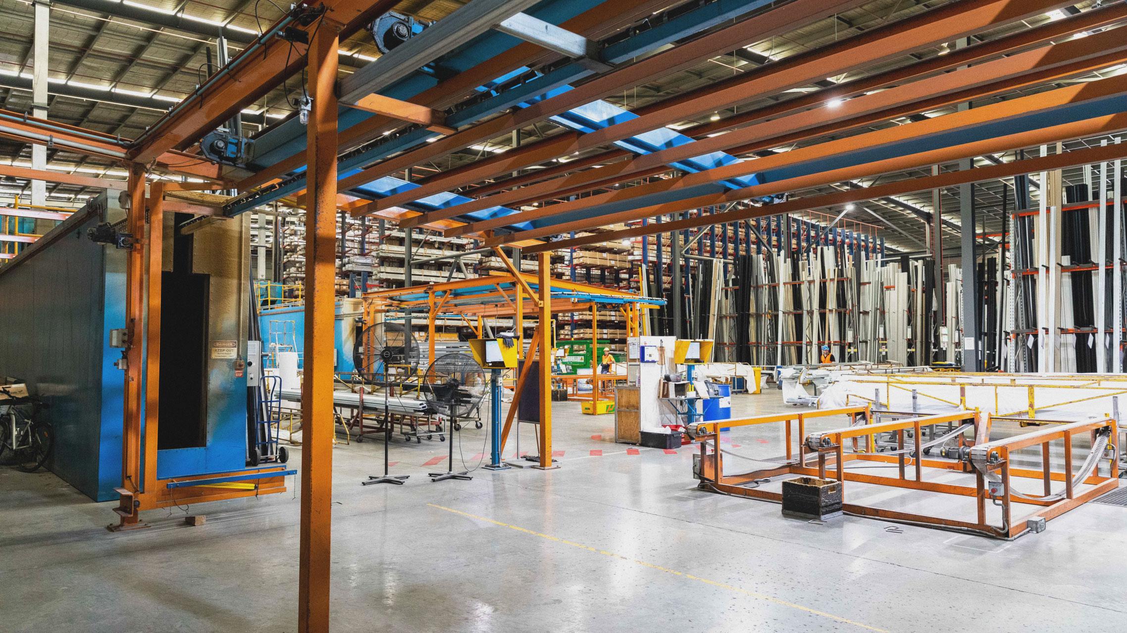 Bradnam's Windows & Doors aluminium distribution centre 9