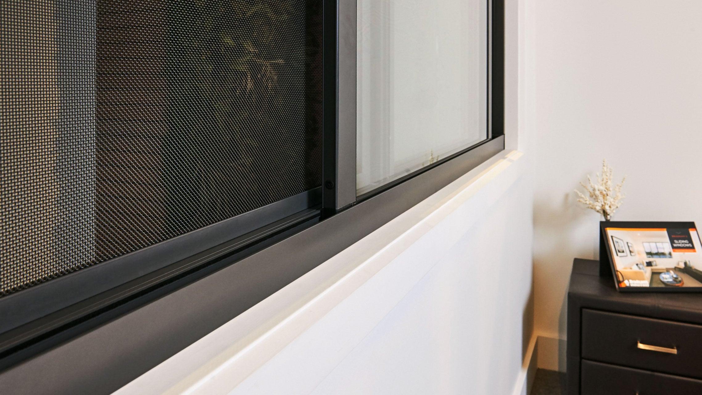 Close up of Signature Sliding Window