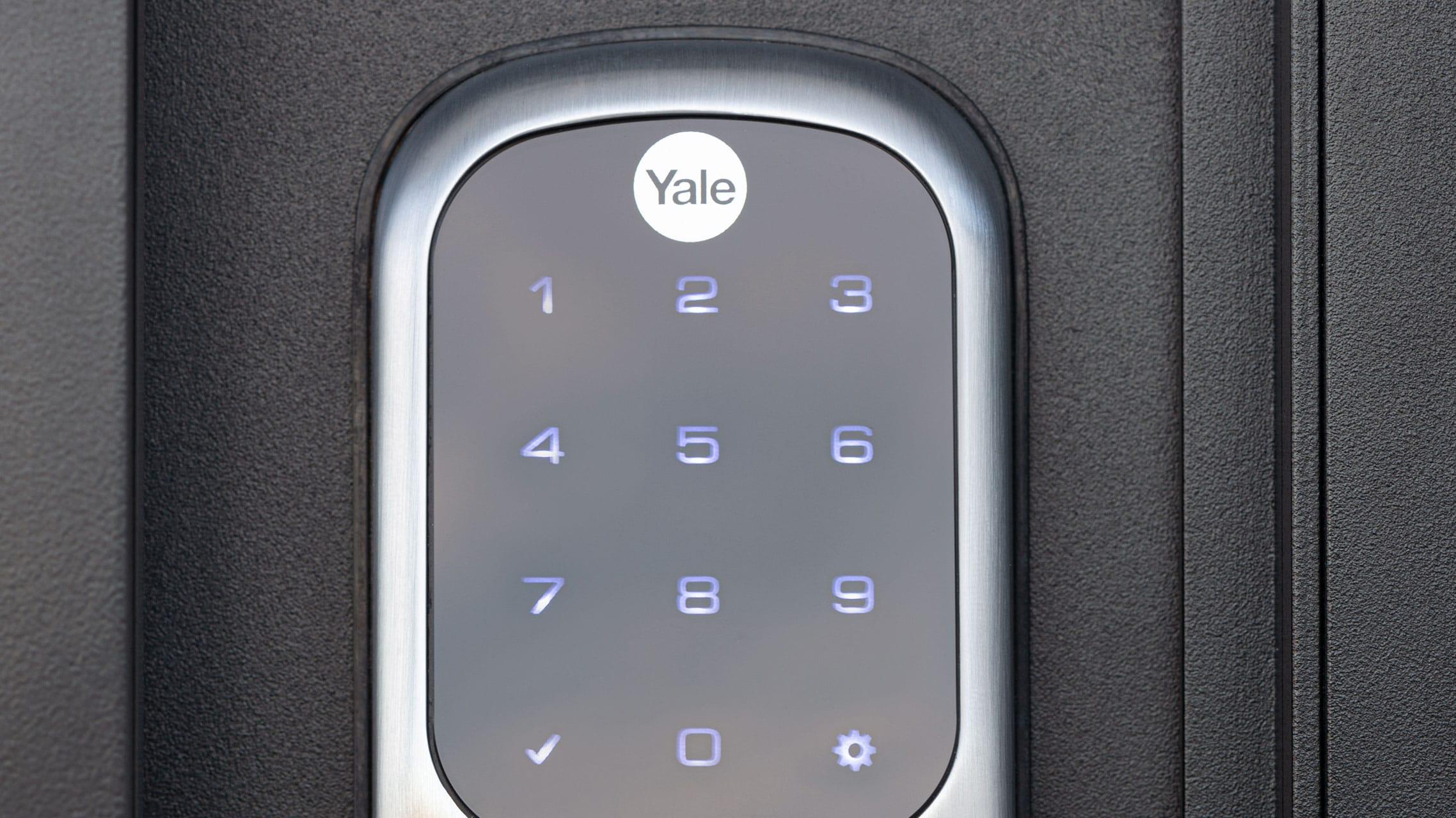 Electronic Door Lock keypad