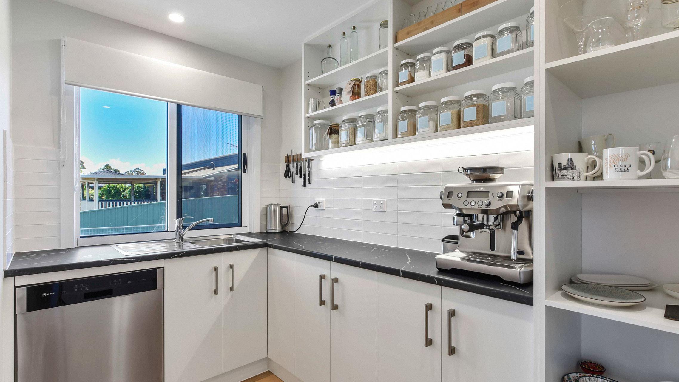 Premium Sliding Window in kitchen